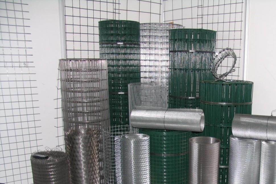 виды металлической сетки фото производитель развивает